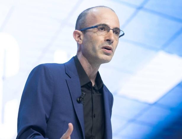 O escritor e historiador israelense Yuval Noah Harari