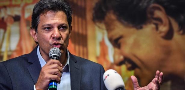 Fernando Haddad participa de entrevista a jornalistas internacionais em SP