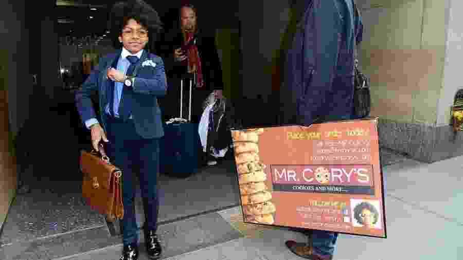 Cory Nieves transformou a venda de biscoitos num negócio milionário  - Getty Images
