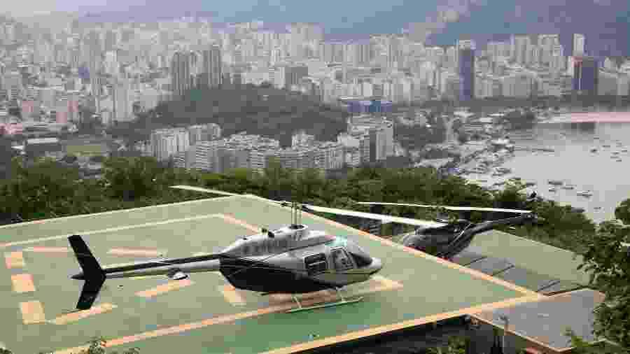 Corretor de imóveis de luxo disse que costuma levar clientes para passear de helicóptero - Getty Images/MsNancy