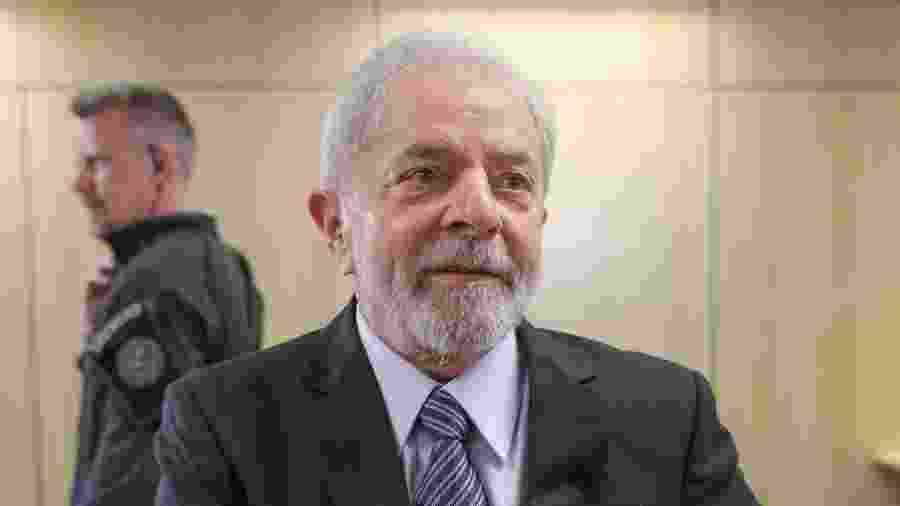 Lula nos bastidores de entrevista exclusiva ao UOL na carceragem da PF - Ricardo Stuckert/Instituto Lula