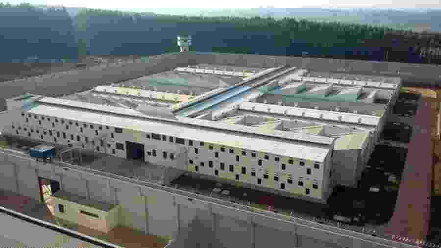 Unidade Prisional Gália 1, umas das que pode ser privatizada - Governo do Estado/Divulgação