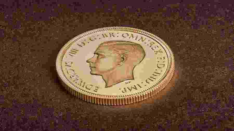 17.jan.2020 - Moeda rara de Eduardo 8º, datada de 1937, foi comprada por um colecionador particular por 1 milhão de libras (1,31 milhão de dólares) - The Royal Mint/Reuters