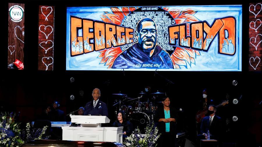 As homenagens para Floyd, de 46 anos, se estenderão por seis dias e três Estados, disse o advogado da família de Floyd à mídia - Reuters