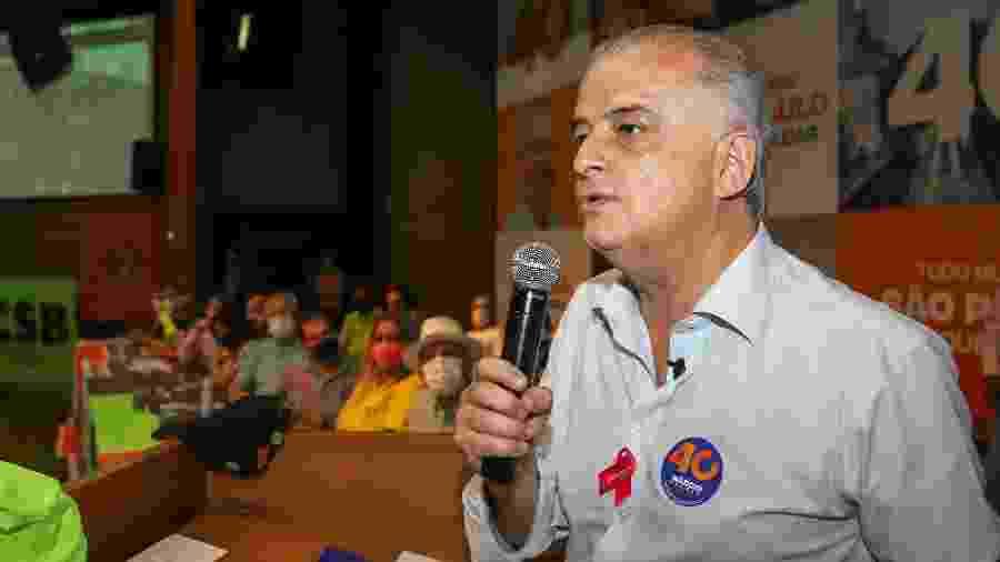 Márcio França é candidato do PSB a prefeito de São Paulo - 8.out.2020 - Fernanda Luz/Divulgação
