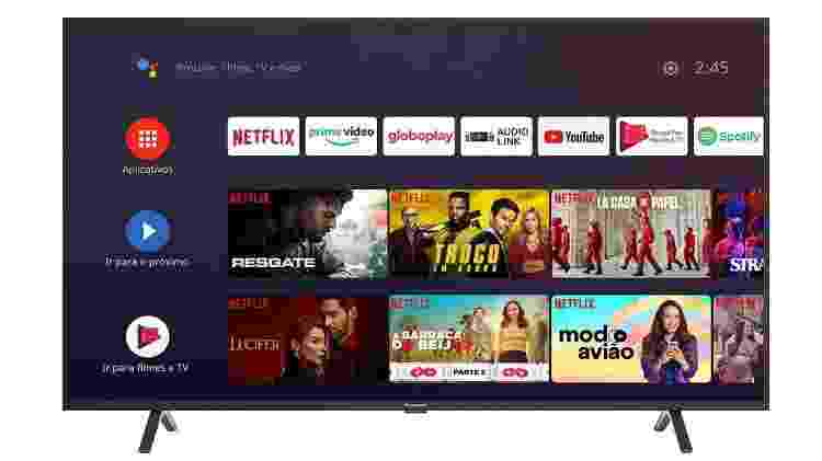 "TV Panasonic TC-55HX550B, LED, 55"" - Divulgação - Divulgação"