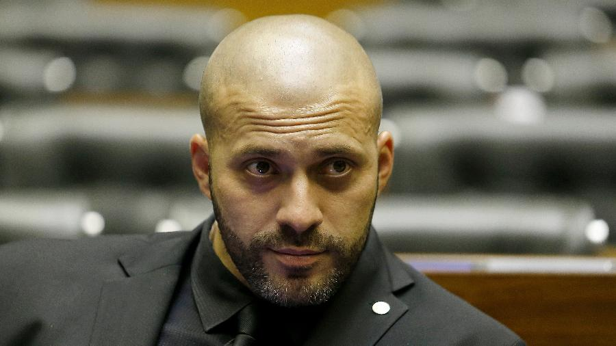Daniel Silveira está preso desde o último dia 16 por divulgar um vídeo com ataques aos ministros do STF - Dida Sampaio/Estadão Conteúdo
