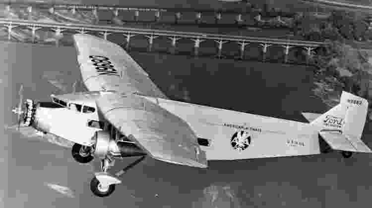 5-AT-B Trimotor, fabricado pela Ford - Museu do Espaço e do Ar de San Diego - Museu do Espaço e do Ar de San Diego