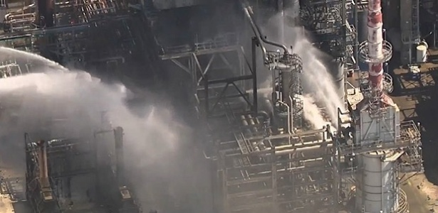 Refinaria de Pasadena opera normalmente, segundo Petrobras - Reprodução/abcNEWS