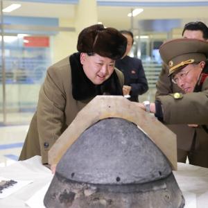 Míssil voou por cerca de 100 quilômetros até cair no mar, informou o Estado-Maior conjunto das Forças Armadas da Coreia do Sul