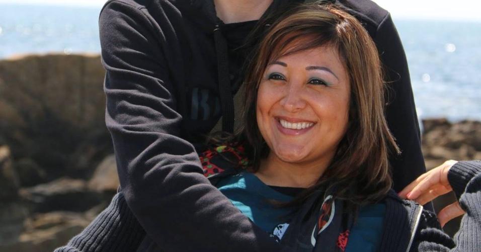 23.mar.2016 - A peruana Adelma Marina Tapia Ruiz, casada com um belga e mãe de gêmeas, foi a primeira vítima a ter a morte confirmada após os atentados em Bruxelas. Ela estava no aeroporto