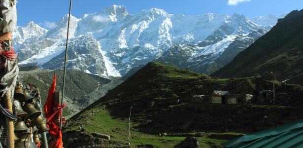 Himalaia vista de Uttarakhand, Índia