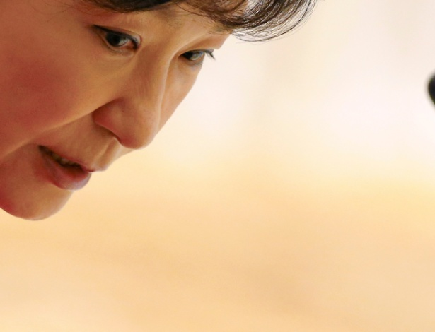 A agora ex-presidente sul-coreana Park Geun-hye