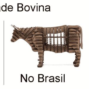 Memes da Operação Carne Fraca: mapa bovino - Reprodução/Twitter