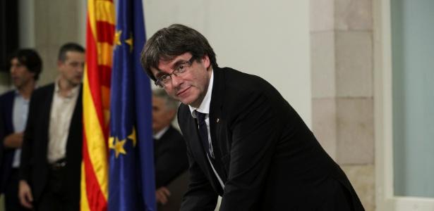 Procuradoria pediu também ordem de prisão do líder catalão Carles Puigdemont