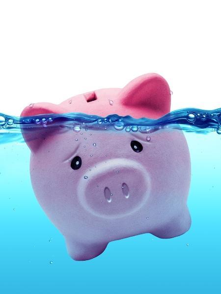 Rendimento bruto da poupança subiu de 1,93% para 2,45% ao ano, ainda abaixo da inflação projetada para este ano - Getty Images/iStockphoto