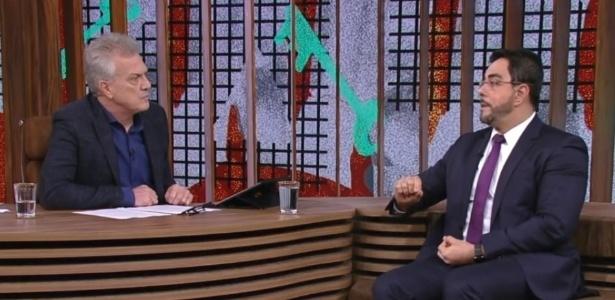 Juiz federal Marcelo Bretas em entrevista no Conversa com Bial