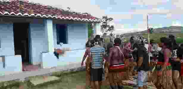 Índios deixam fazenda do ex-ministro Geddel Vieira Lima na Bahia - Itapetinga Repórter/Divulgação