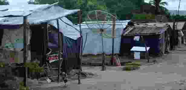 O acampamento São José tem uma história de violência na sua fundação - Beto Macário/UOL