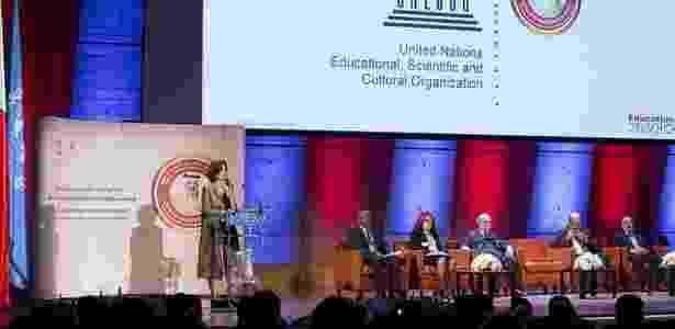 'O que se defende é a aprendizagem ativa, na qual o estudante tem de botar a mão na massa, experimentar', diz Dellagnelo, acima no Prêmio Unesco - Unesco - Unesco