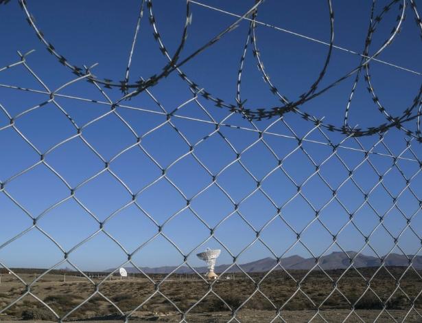 Antena parabólica de 450 toneladas em estação espacial chinesa na Patagônia - Mauricio Lima/The New York Times