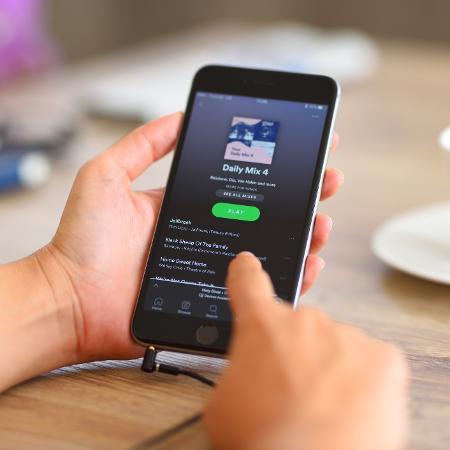 Spotify; app; streaming; música; celular - iStock/Getty