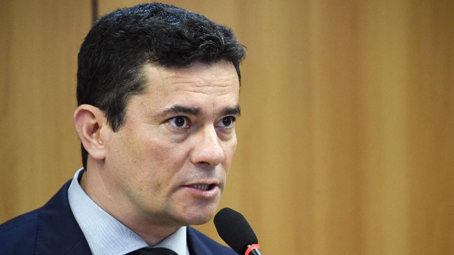 Moro divulgou publicamente e apresentou a parlamentares e governadores a sua proposta - Evaristo Sá/AFP