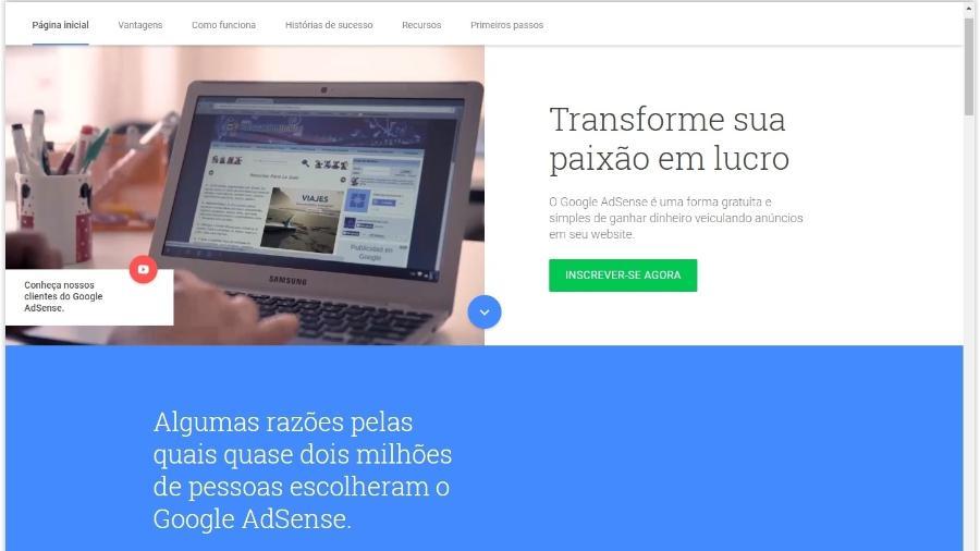 Google Adsense - Reprodução