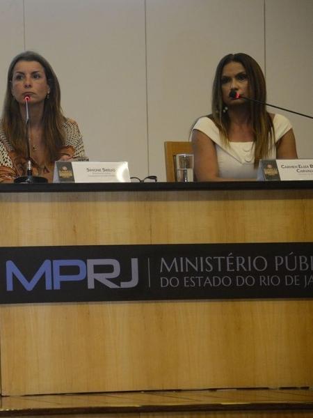 Á direita, a promotora Carmen Eliza Bastos de Carvalho  - Fernando Frazão/Agência Brasil