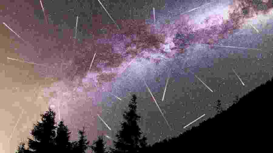 Você conhece as chuvas de meteoros que compõem o calendário espacial? Ainda dá tempo de tentar ver uma delas: a Geminídeas - Getty Images