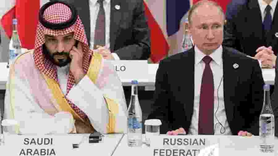 A Arábia Saudita e a Rússia parecem ter desistido de seguir cooperando para estabilizar o preço do petróleo - Getty Images via BBC