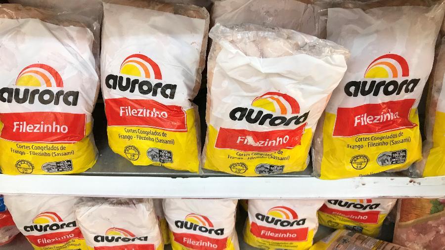 O governo de Hong Kong suspendeu a importação de carne de frango da unidade da Aurora Alimentos de Xaxim (SC) - RICARDO MORAES