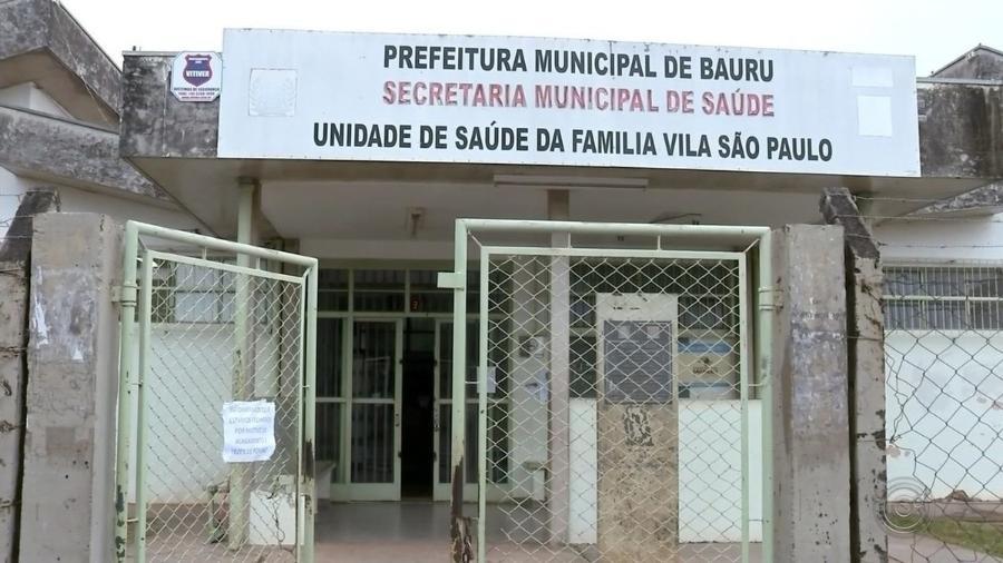 Agente de Saúde trabalhava na Unidade de Saúde da Família da Vila São Paulo, localizada em Bauru, no interior de São Paulo - Reprodução / TV TEM / Rede Globo