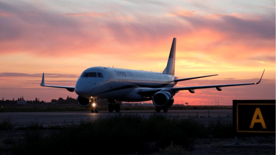 Lineage 1000, jato executivo da Embraer - Divulgação/Embraer