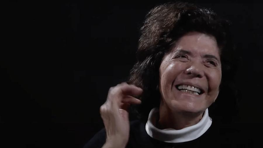 Clarice Herzog, publicitária, viúva do jornalista Vladimir Herzog, assassinado no DOI-Codi em 1975, em gravação de 2019 para o Instituto Vladimir Herzog e o Museu da Pessoa - Reprodução