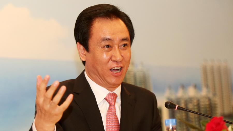 Hui Ka Yan, CEO da Evergrande - Xiaomei Chen/South China Morning Post via Getty Images