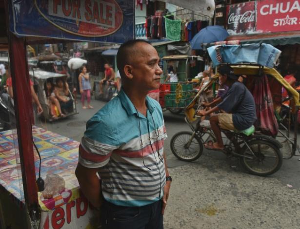 Virgilio Mabag, 54, acha que seu irmão viciado vai se tornar vítima da política antidrogas do presidente Rodrigo Duterte, em Pasay, nas Filipinas