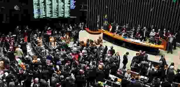 Plenário da Câmara após a aprovação em segundo turno da PEC 241 - Luis Macedo/Câmara dos Deputados - Luis Macedo/Câmara dos Deputados