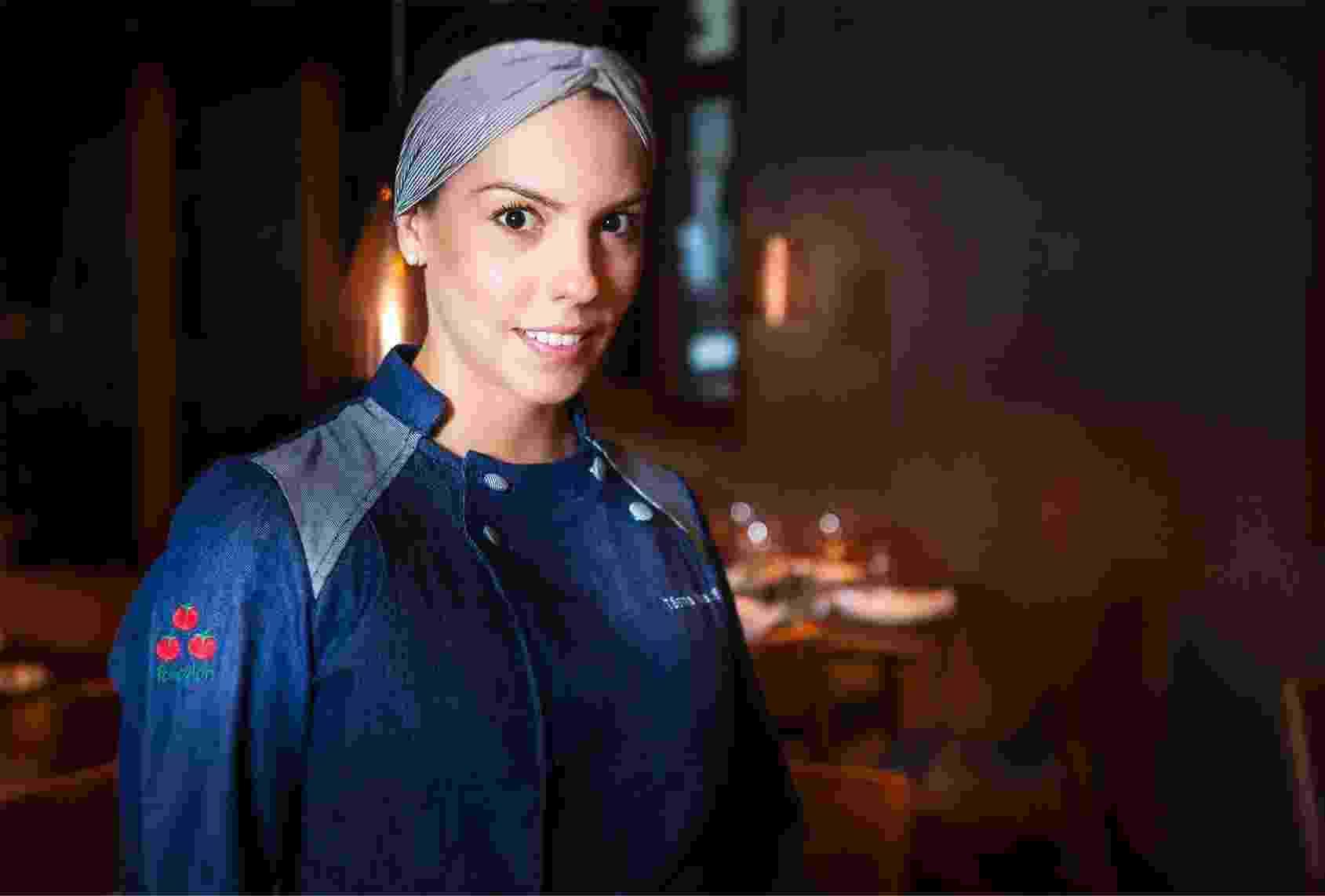 Chef Tássia Magalhães, dona do restaurante Pomodori, em São Paulo - Divulgação