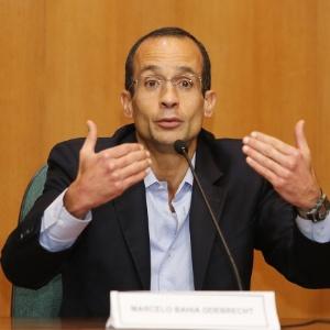 O empreiteiro Marcelo Odebrecht, preso pela Operação Lava Jato