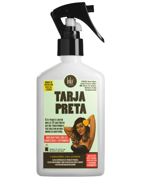 """O creme hidratante capilar """"Tarja Preta"""" é um dos produtos da empresa Lola Cosmetics, da empresária Dione Vasconcellos"""