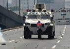 10 fotos icônicas dos protestos na Venezuela - Juan Barreto/AFP