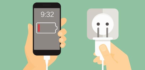 Você já teve a sensação de que a bateria do celular dura mais com 1%?
