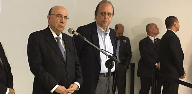 6.set.2017 - Henrique Meirelles e Pezão apresentaram metas do plano de socorro ao Rio