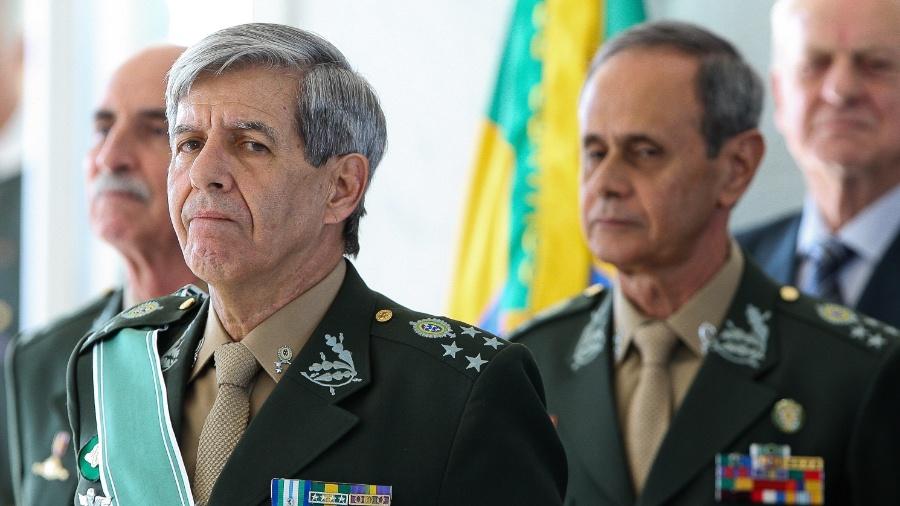 17.jul.2018 - General Augusto Heleno - Sergio Lima/Folhapress