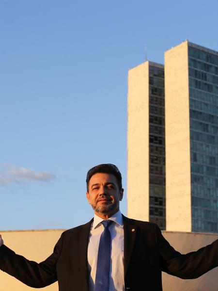 O pastor Marco Feliciano (Pode-SP) reapresentou projeto registrado em 2015 - Dida Sampaio/Estadão Conteúdo