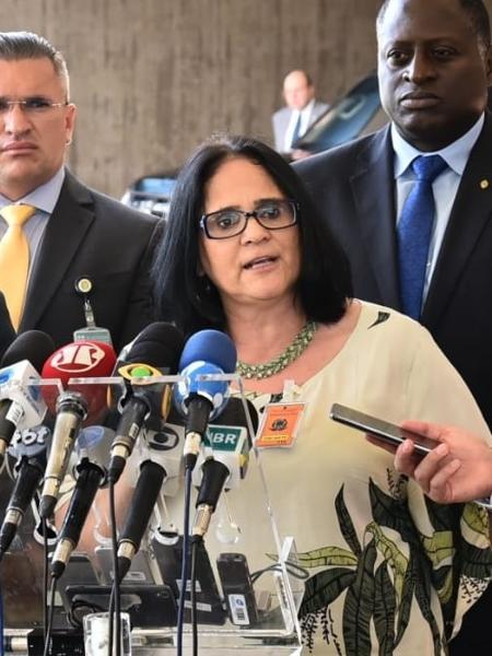 Damares Alves foi anunciada como ministra da Mulher, Família e Direitos Humanos do governo Jair Bolsonaro (PSL). - Assessoria de Transição 6.dez.2018 /Divulgação