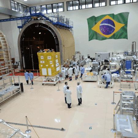 O satélite CBERS-4A é resultado de uma parceria entre o Brasil e a China para o desenvolvimento tecnológico - Divulgação/Inpe