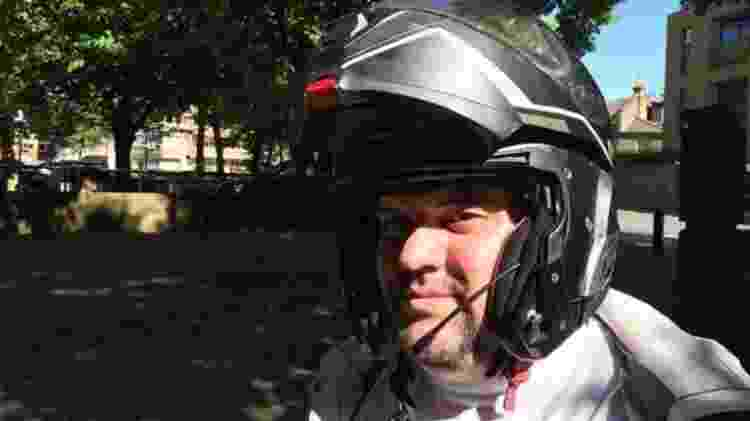 O paulista Welington Ribeiro Silva, de 42 anos - Fernanda Odilla/BBC News Brasil