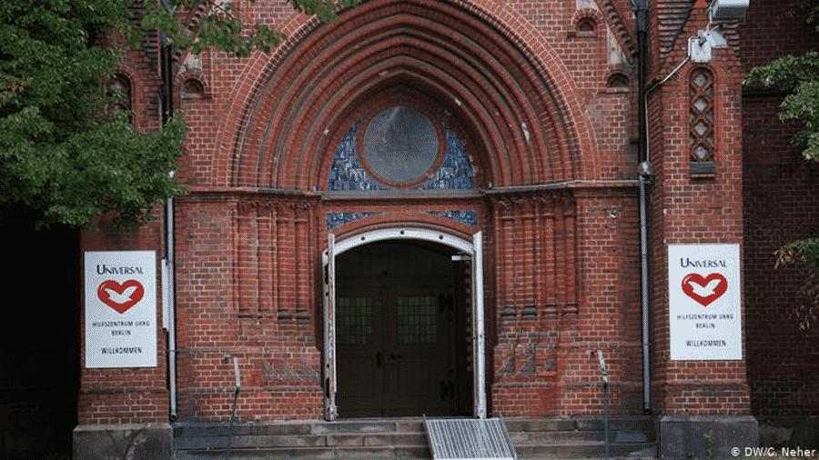 Sede alemã da Igreja Universal do Reino de Deus em Berlim - DW/Neher